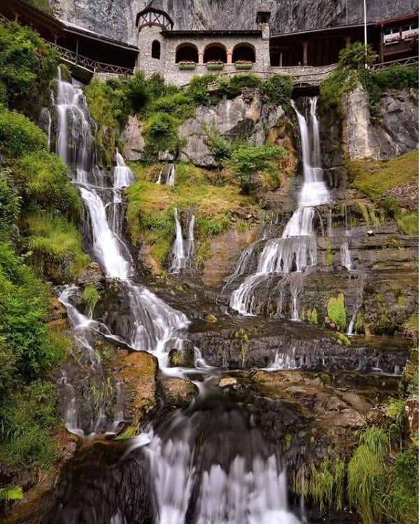 st beatus caves waterfalls