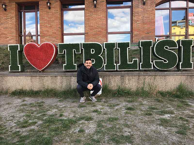 I love Tbilisi sign