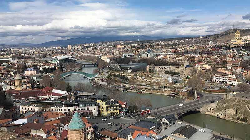 Tbilisi from above