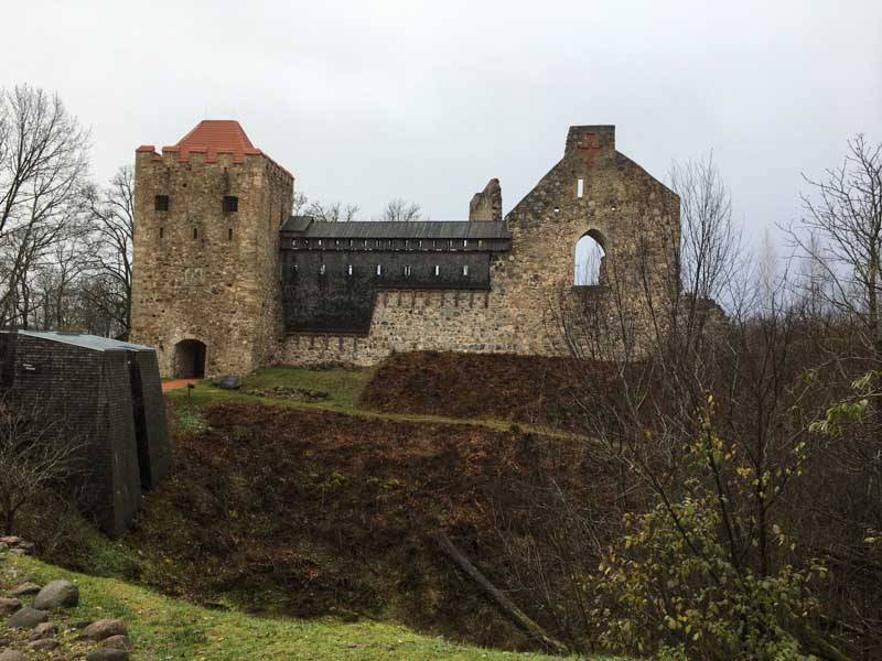 Oldest castle in Sigulda