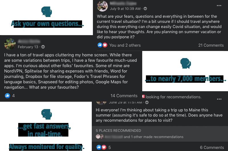 travel community online