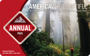 america the beautiful national parks pass is a great gift for road trippers