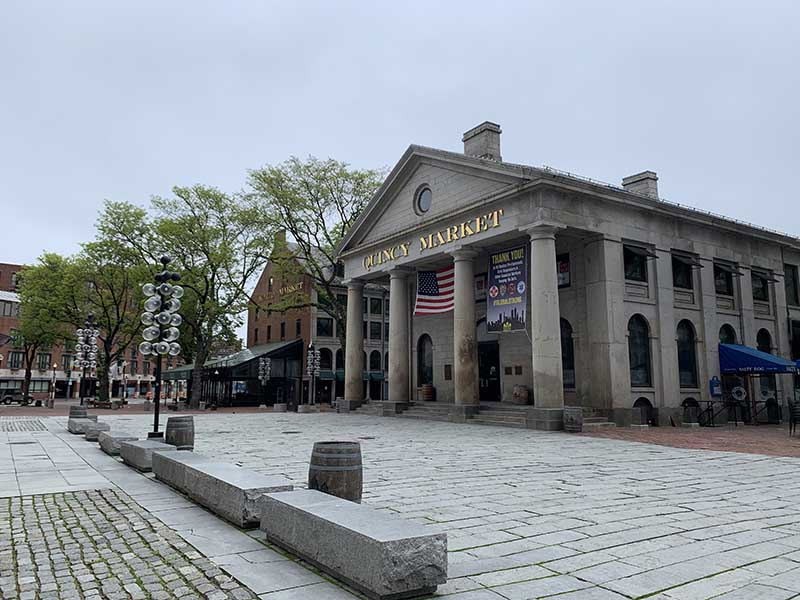 Faneuil Hall Marketplace in Boston. © Tegan George