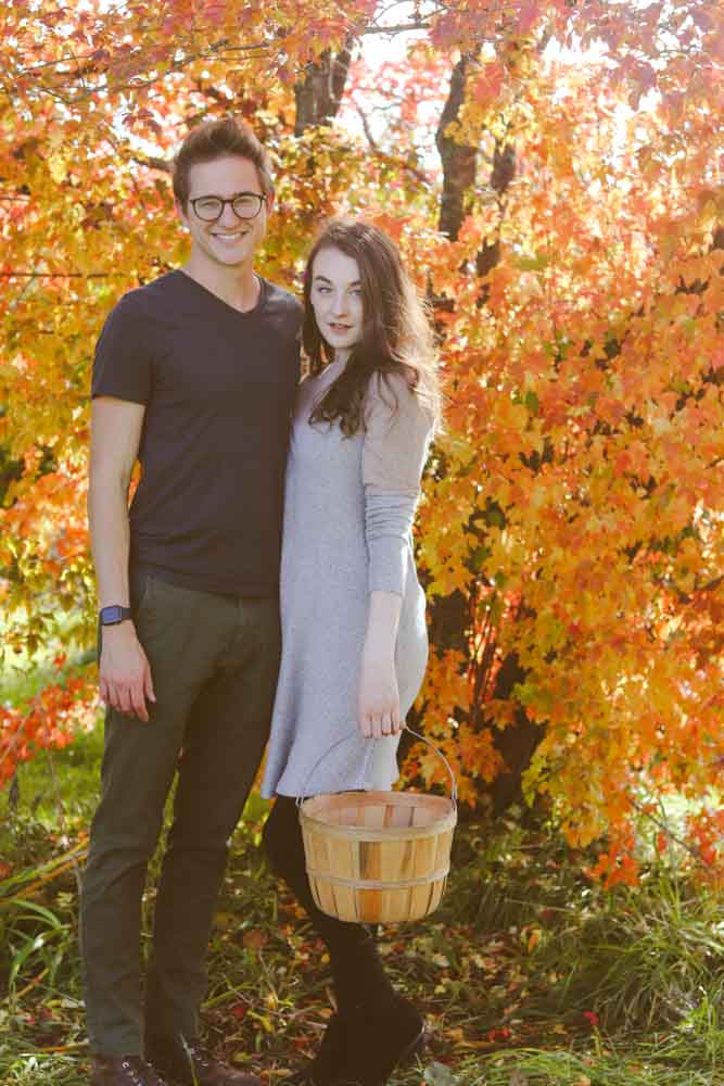 fruit picking is a great, cheap date night idea