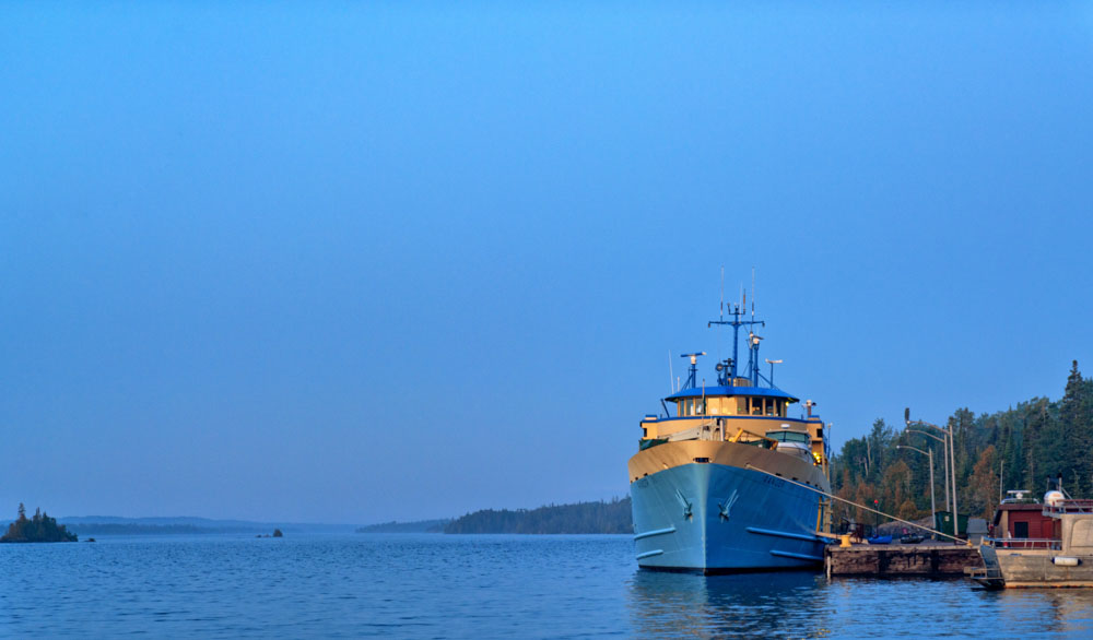 ferry to isle royale, upper peninsula michigan, things to do in keweenaw peninsula