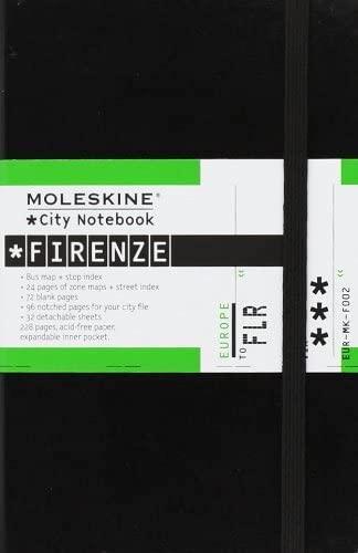 black moleskine city notebook - firenze